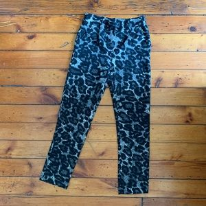 Leopard print pants from Milan